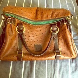 Dooney and Bourke ostrich purse